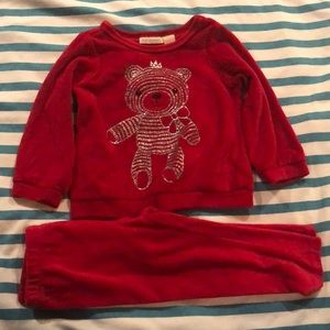 First impression adorable two piece sweats